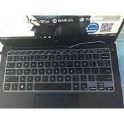 iBenko Ultra Thin Keyboard Silicone Protector Cover Skin for Dell Inspiron 13 7000 Series i7347 i7348 i7352 i7353 i7359 Inspiron 15 7000 Seris i7547 i7548 XPS 13-9343 9350 (Black)