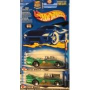 Hot Wheels 2002 He Man Double Vision 3/4 093 Wheel Variation Green