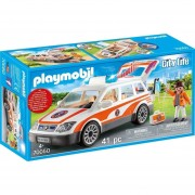 Playmobil Linea Rescate - Auto De Rescate Con Sirena - 70050