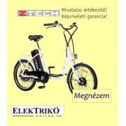 Z-zech ZT-07 elektromos kerékpár Lithium-ion akkumulátorral , fehér színben