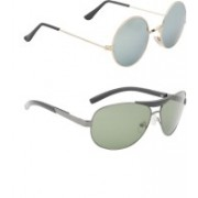 Amora Aviator Sunglasses(Multicolor)