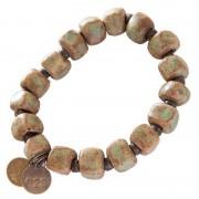 Simbi Clay Bracelet Old Copper
