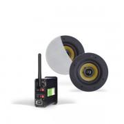 Aquasound bluetooth 4.0 versterker m/Coco speakers 30W wit tmn30easyco