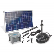 Solar pond pump system Roma LED