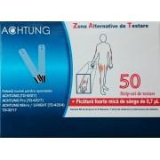 Teste glicemie (stripuri, bandelete) pentru glucometrele Achtung TD 4227, TD 3217, TD4207, TD4235, TD4254