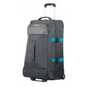 American Tourister Road Quest 69cm Medium 2-Wheel Duffle Bag - Grey/Turquoise