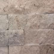 Mozaic Travertin Rustic Crem Scapitat 10x5x2 cm