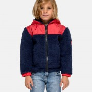 Sundek giacca bimbo orsetto e nylon con cappuccio