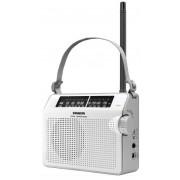 PR-D6 W AMFM hordozható táskarádió fehér