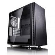 Кутия Fractal Design Define Mini C TG, mATX/ITX, прозорец, черна, без захранване