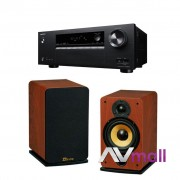 Pachet Receiver AV Onkyo TX-SR373 + Boxe Davis Acoustics Eva