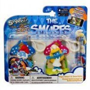 Swappz Smurfs-Schtroumpf - Pack 2 Figurines - Papa & Smurfette By Swappz