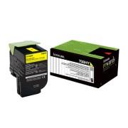 Tóner Lexmark 70C8HY0 color amarillo, alto rendimiento