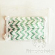 Két rétegű textil Szájmaszk