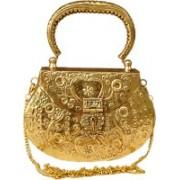 MAC MAH Hand-held Bag(Gold, Yellow)