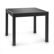 Blumfeldt Pamplona Extension, kerti asztal, 180 x 83 cm, alumínium, üveg, sötétszürke (GDMB8-Pamplona-1)
