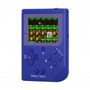 Rs-6 Retro Mini Consola Portatil, 2,5 Pulgadas 8 Bits Color 129 Juegos Retro FC Jugador Del Juego (azul)