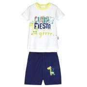 Petit Béguin Ensemble bébé garçon t-shirt + short Cuba Fiesta - Taille - 9 mois