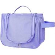 Xeekart Travel Bag Beauty Make Up Wash Bag Toiletry Bag Zipper Cosmetic Case Organizer Travel Toiletry Kit(Purple)