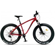 Bicicleta City Pegas Fat Bike Suprem Rosu