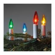 Lanț de crăciun FELICIA 16xE10/14V/230V colorat