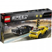 LEGO Speed Champions: Dodge 2018 Challenger Hellcat and Hot Rod (75893)