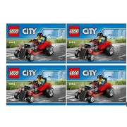 Lego City Hot Rod 30354 Set of 4 Party Favors