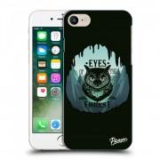 Átlátszó szilikon tok az alábbi mobiltelefonokra Apple iPhone 8 - Forest owl