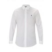 Ralph Lauren Regular fit overhemd in wit met donkerblauw detail