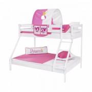Dečiji krevet na sprat Maxim Beli Princess