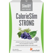 SlimJOY CalorieSlim Strong Weight-loss Capsules - Block Calories and Reduce Carb Cravings 1-Month Programme SlimJoy
