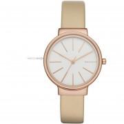 Reloj De Cuero Beige SKW2481 Ancher Beige De Mujer Skagen