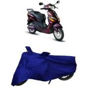 De AutoCare Premium Quality Royal Blue Matty Two Wheeler Scooty Body Cover for Hero Electric Optima Plus