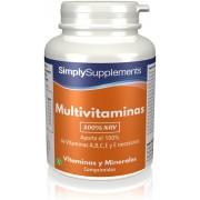 Simply Supplements Multivitaminas (100% VRN) - 120 Comprimidos
