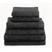 Neiper Juego de toallas algodón peinado 580 gr./m2 color gris anthracite (71686)