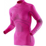 X-Bionic - tričko T LADY ACC EVO UW TURTLE NECK pink Velikost: L/XL