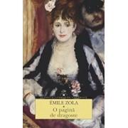 O pagina de dragoste/Emile Zola