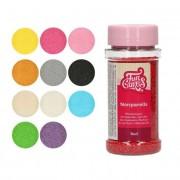 Cake Supplies Sprinkles de perlas mini de colores de 80 g - FunCakes - Color Rosa