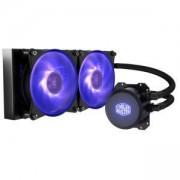 Охладител за процесор Cooler Master MasterLiquid Lite ML240L RGB CPU, течно охлаждане, AMD/INTEL, CM-FAN-MLW-D24M-A20PC-R1
