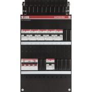 ABB 3 fase groepenkast 6 aardlekautomaten