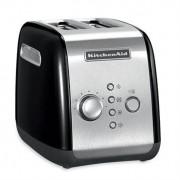 kitchenaid Grille-pain 2 tranches noir 5KMT221EOB kitchenaid