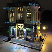 Brick Bank Lighting Kit for Lego 10251 Set (LEGO set Not Included) by Brick Loot