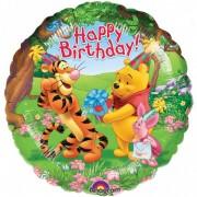 Balon folie 45 cm Winnie the Pooh Happy Birthday