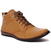 RockSoft Men's PU High Top Shoes
