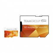 Micro SD Card, 128GB, TEAM GROUP ELITE Color, 1xAdapter, Class 10 (TCUSDX128GUHS42)