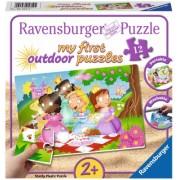 Puzzle Printese Dragute, 12 Piese Ravensburger