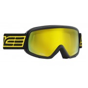 Masque de ski Salice 608 DARWF NERO/RW GIALLO