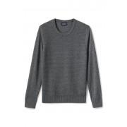 ランズエンド LANDS' END メンズ・ブレザー・セーター/クルーネック/長袖(マイカヘザー)