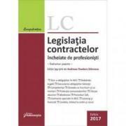 Legislatia contractelor incheiate de profesionisti Editia 2017