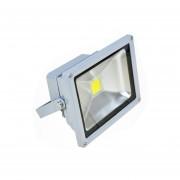 Foco LED 30 watts HB Importaciones-Gris, casa, patio, hogar, iluminación, jardín, proyector.